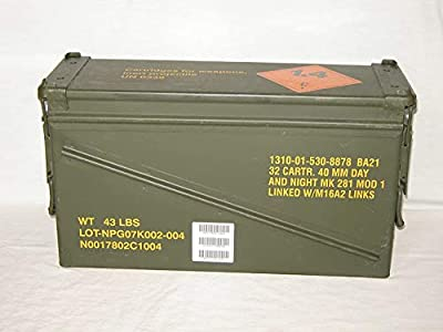 Surplus Ammo Cans: 40MM