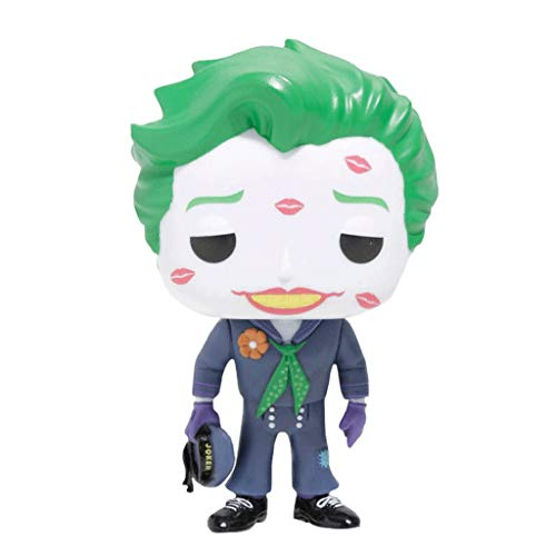 Funko Pop Heroes : DC Comics Bombshells - The Joker (with Kiss) Figure Gift Vinyl 3.75inch for Heros Movie Fans SuperCollection