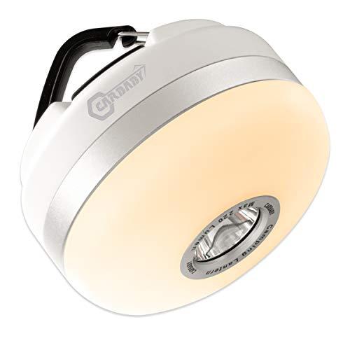 CARBABY LED キャンプ ランタンア ウトドア 懐中電灯 乾電池式 バッテリー ライト 防災 マグネット&吊り下げフック 防塵防水 7段階調光