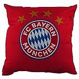 FC Bayern München Deko Kissen 40 x 40 cm (9103) mit Wendemotiv