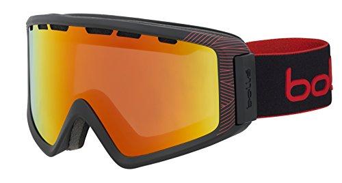 Bollé Z5 OTG Black Red Matte / Sunrise Cat.2 | Medium-Large - Snow goggles Unisex-Adult
