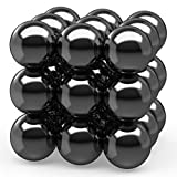Magnets Balls 18 PCS Magnets Gadget Toys For Kids, Refrigerator Neat Party Gift Supplies Favors Brain Teaser Toys -Creativity, Hematite Magnetic Blocks Stones Polished Strong Imagination, Inspiration…