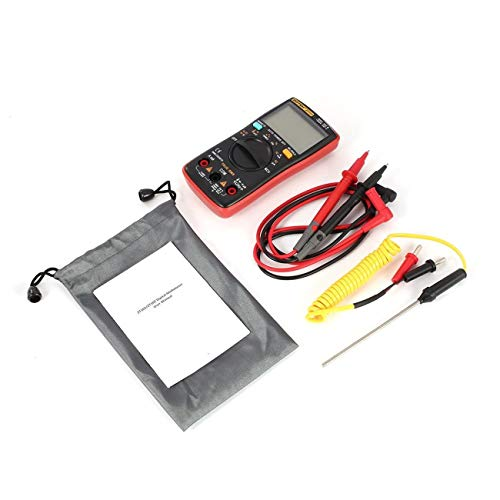 ZOTEK ZT102 Mini 9999 Digital-Multimeter mit Zählbereich, AC/DC-Spannungsprüfer und Temperatur- und NCV-Messung JBP-X
