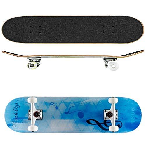Skateboard Skateboard Deck Skateboard Komplettboard Professional Adult Skateboard Komplettes Rad Truck Maple Deck Solid Longboard,D