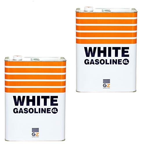 ガレージ ゼロ PURE WHITE ホワイトガソリン 4L GZ404×2缶