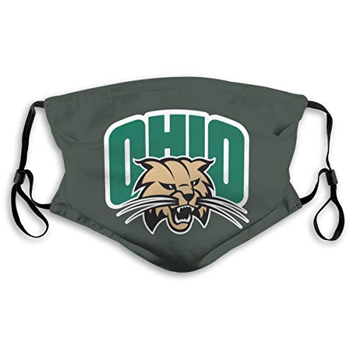 Ohio Bobcats Colleage Team Breathable Dust-Proof Mouth Cover Washable Reusable for Children