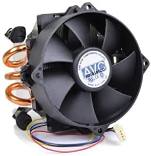 Brand New AVC Socket-775 (ONLY for INTEL LGA775) CPU Cooler, Heavy Duty Heatsink with Copper Pipe. 4-PIN Plug with PWM Function