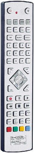 auvisio Fernbedienung lernfähig: USB-programmierbare 4in1-Universal-Fernbedienung PRC-540.USB (Fernbedienung für Fernseher)
