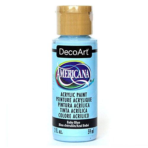 Deco Art Americana Peinture Acrylique Multi-usages, Bleu bé bé