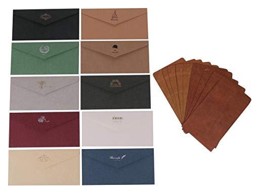 アンティーク 調 レターセット 手紙 封筒 2種類各10枚 便箋 24枚 シール 1シート セット ギフト お礼