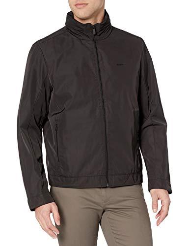 Calvin Klein Men's Flight Jacket, Lunar Grey, Medium