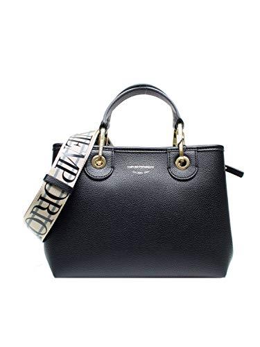 Emporio Armani Borsa Shopping Handtaschen Damen Schwarz/Goldfarben - Einheitsgrösse - Handtasche Bag