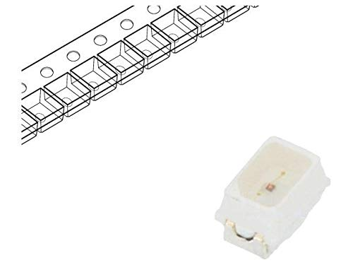 20x RF-OURK14TS-CE-WE LED SMD Mini PLCC2,2014 red 230-530mcd 2x1.4x1.3mm REFOND