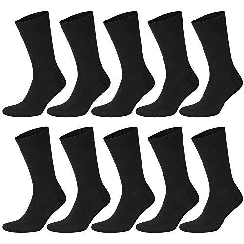 ABI TEXTIL Socken Herren Damen Nahtlose 10 Paar Baumwolle Business Socken Atmungsaktiv Widerstandsfähig Gemütlich Qualität