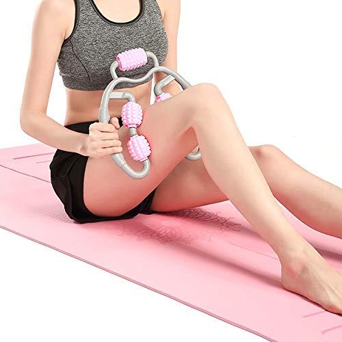 TGAICHO Foam Shaft Muscle Relaxer Massagerolle, Cellulite Massagegerät, Massagerolle Gegen Muskelkater, Schulter-Nacken-Muskelkater