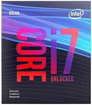 Intel BX80684I79700KF Intel Core i7 9700KF Desktop Processor 8 Cores up to 4 9 GHz Turbo Unlocked product image