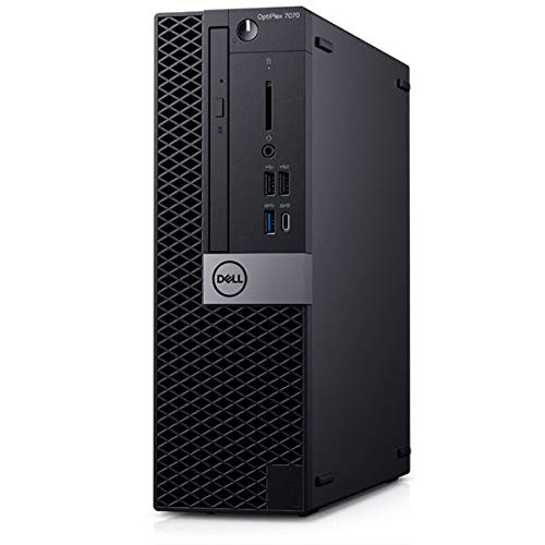 Dell OptiPlex 7070 Small Form Factor, Intel Core i5-9500, 8GB RAM, 256GB SSD, DVD-RW, Dell 2 YR WTY + EuroPC Warranty Assist, (Renewed)