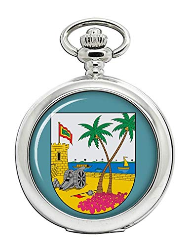 Atlántico (Colombia) Reloj Bolsillo Hunter Completo