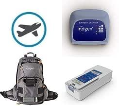 HIDGEEM O2 Concentrator 1-6L//Min Adjustable Portable O2 Machine Use for Home Ac 110v car and Travel Etc B05, White