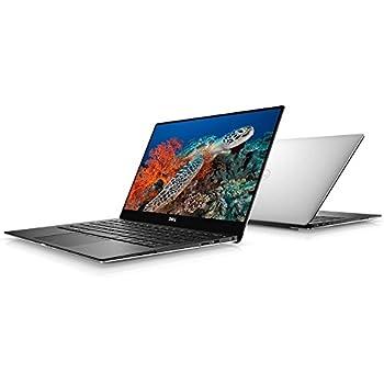"Dell XPS 13 9370 Laptop: Core i7-8550U, 13.3"" UHD 4K Touch Display, 256GB SSD, 8GB RAM, Fingerprint Reader, Backlit Keyboard, Windows 10 (Silver)"