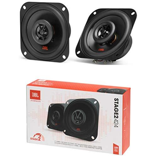 2 Lautsprecher kompatibel mit JBL STAGE2 424 koaxial 2 Wege Quadrat 10,00 cm 100 mm 4