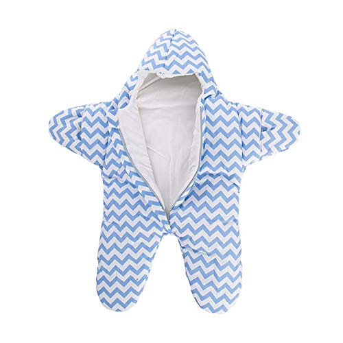 Voetenzak Baby Kinderwagen Slaapzak Winter Warm Slaapzakken Robe Voor Baby Zeester Rolstoel Enveloppen Voor Pasgeborenen Voetenzak Baby Slaap