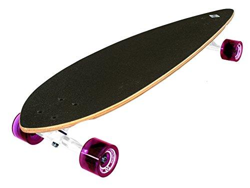 "Streetsurfing Street Surfing Longboard Pintail 40\"", Design: Cloudy, Mehrfarbig, Zoll"