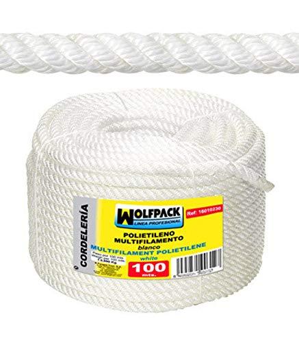 WolfPack 16010205 Cuerda Polipropileno Multifilamento (Rollo 100 m.) 6 mm