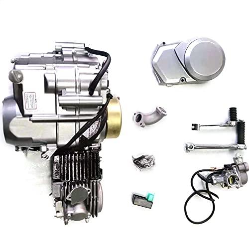 140CC 4 Stroke Engine Motor Manual Clutch Pit Dirt Bike ATV Quad CDI Motor Engine Complete Kit Fits for Honda CRF50 CRF70 XR50 XR70 Z50 Z50R