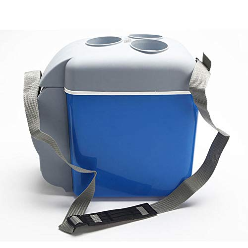 HHRen 7.5L El Mini refrigerador refrigerador portátil de Calentamiento eléctrico Frigorífico Refrigerador al Aire Libre del Recorrido de la Comida campestre