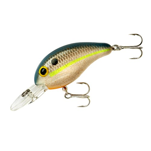 Bandit 2KSB02 200 Series 1/4-Ounce Crank Bait Fishing Lure, Sparkle Ghost Finish (0.25 Ounce Cranks)