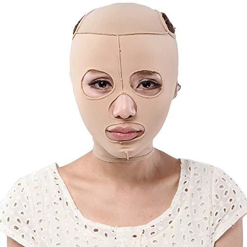 Artefact lifting facial en forme de V Ceinture visage mince, respirante sommeil Bandage lifting facial massage visage double menton visage Réducteur Mise en forme tout compris, Bandage 4 tailles L'out