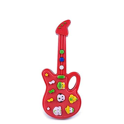 DIY Componentes guitarra Cuerpo Juguete Guitarra linda del animal eléctrica de cuna...