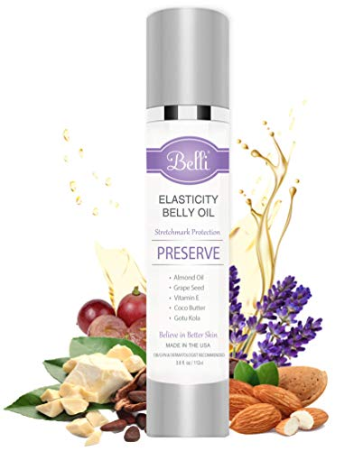 Belli Elasticity Belly Oil For Stretch Marks
