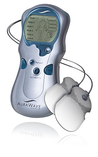 Endurance Therapeutics Aurawave TENS Unit Machine/Muscle Stimulator for Pain Management - Includes Adjustable Back Relief Belt and Adhesive Electrode Pads