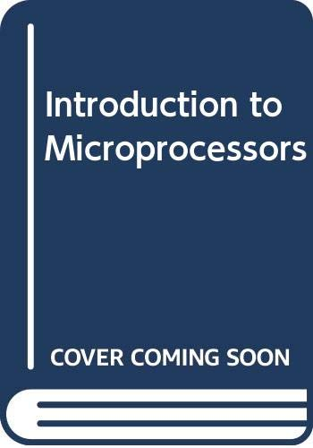 Compare Textbook Prices for Introduction to Microprocessors  ISBN 9780070964976 by Mathur, Aditya P.