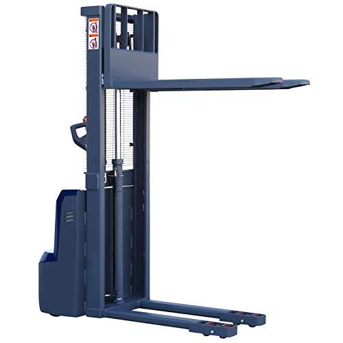 Carretilla elevadora eléctrica Apilador eléctrico de 1,6 m / 1600 mm de altura de elevación - 1 t / 1000 kg Capacidad de elevación de las europaletas