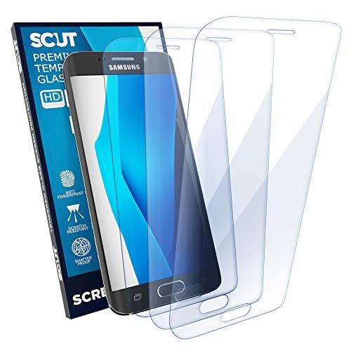Screen Protector Samsung Galaxy S6 Edge Plus | Film Tempered Glass | Scratch Resistant Impact Shield Glass | Case Friendly | Anti fingerprint