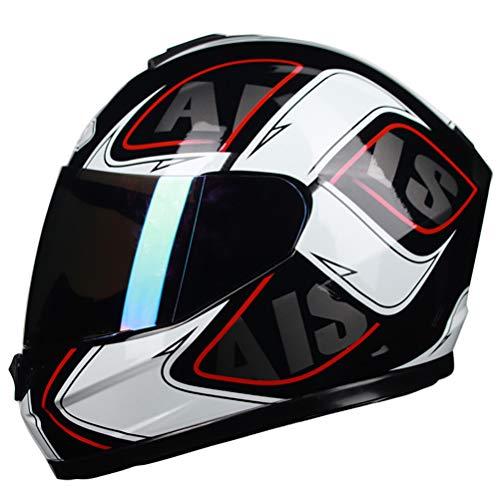 Casco integral de motocicleta Casco Moto Modular Visor Casco de motocicleta Casco de motocross para adolescentes Casco Integrale Casco integral de motocicleta vintage Cascos integrales MTB