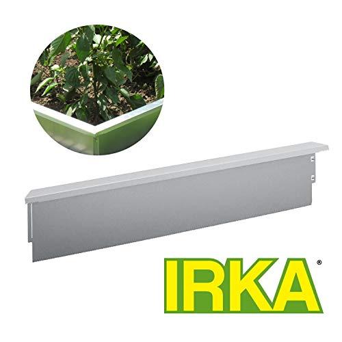 IRKA Schneckenzaun Typ 1, Neuheit - Keine Eckverbinder nötig - geniales System 50 cm