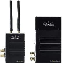 Teradek Bolt 500 XT SDI/HDMI Wireless Transmitter/Receiver Deluxe Kit, Gold Mount