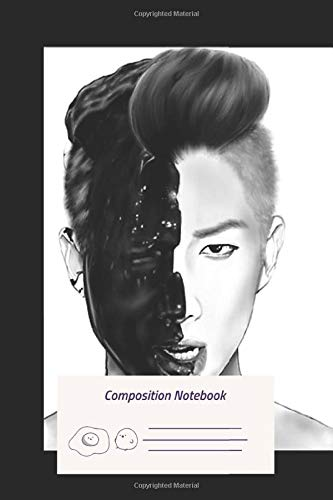 Composition Notebook: Rap Monster Bts Composition Notebook for Journaling, Note Taking in schools
