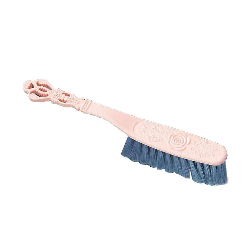 力強い支配的空いているLargesoy ホコリ取りブラシ 洋服ブラシ ふとん掃除 ほこり取り 静電防止 花粉対策 スーツブラシ お手入れ ピンク