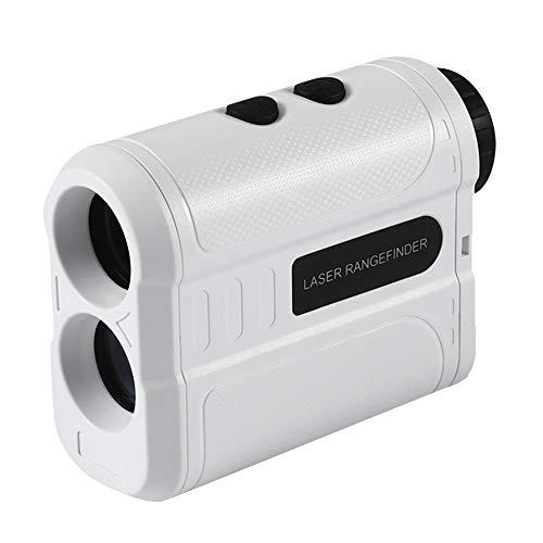 Inlife 5 Telémetro Láser de Golf 600P 600m/900M/1200M/1500M Medidor de Distancia 6X Buscador de Rango Monocular (1500m, Stiff)