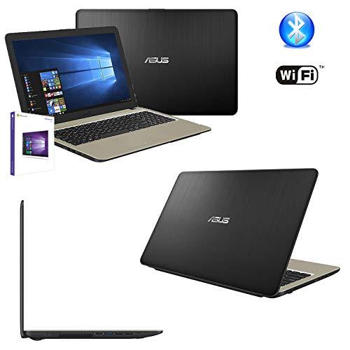 Notebook Asus Portatile Pc Display da 15.6' Cpu AMD A4-9125 2.60Ghz/Ram 4Gb DDR4/HD 500GB /Graphics Radeon R4,Masterizzatore Wifi Bluetooth hdmi,usb 3.0 2.0,WebCam,Windows 10 professional +open office