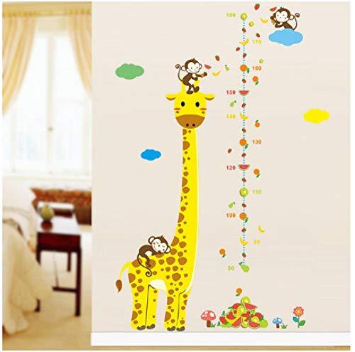 Jungle Wild Forest Zoo Dieren Boom Plant Bloem Muur Stickers Kids Kamers Kwekerij Kinderen Thuis Decor Muursticker Mural
