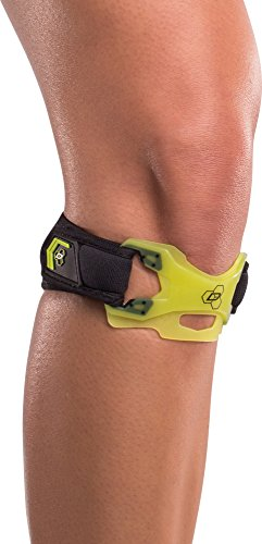 DonJoy Performance WEBTECH Knee Support Strap: Slime Green, Large/X-Large