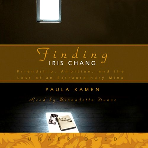 Finding Iris Chang audiobook cover art