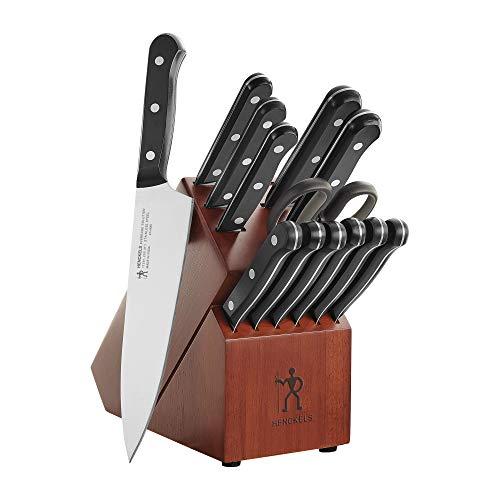Henckels International Everedge Solution 14-pc Knife Block Set