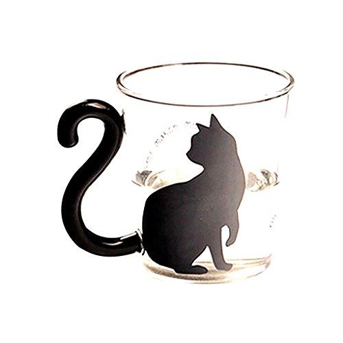 Vetro Gatto Gattino Tazza Di Tè Tazza Di Latte Tazza Di Caffè Creativo Simpatico - #4